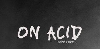 Free On Acid Handmade Font