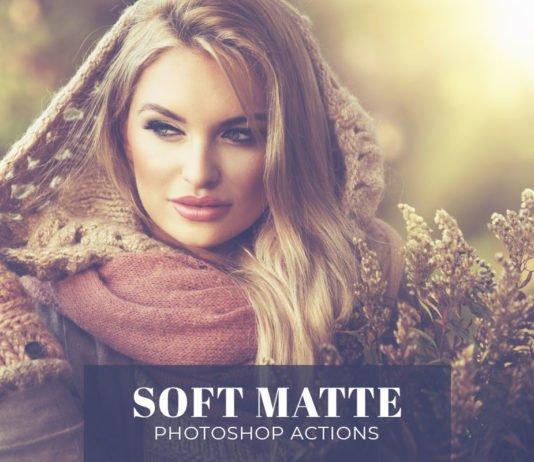 Free Soft Matte Photoshop Actions
