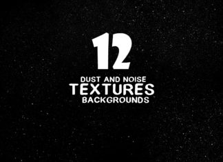 12 Dust and Noise Textures Backgrounds