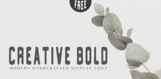 Free Creative Bold Handcrafted Typeface