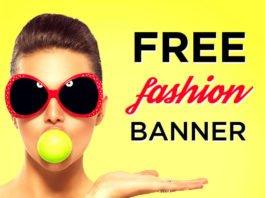 Free Fashion Banner Templates