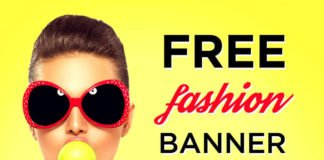 Free Fashion Banner Templates