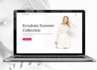 Free Kenakata eCommerce PSD Template