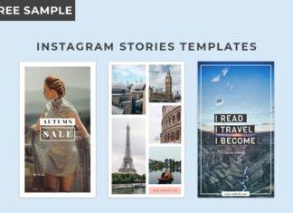 3 Free Instagram Stories Templates