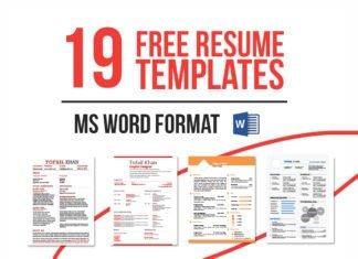 19 Free Resume Templates