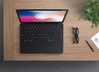 Free Macbook Modern Mockup