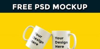 Free Cup Mockup PSD