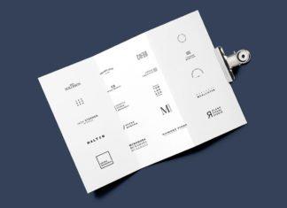 Free Minimalista Logo Template Pack 2017