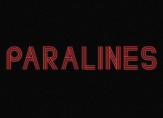 Free Paralines Retrofuturistic Font