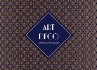 Free Art Deco Vector Pattern