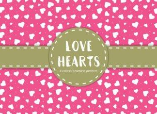 Free Love Hearts Pattern
