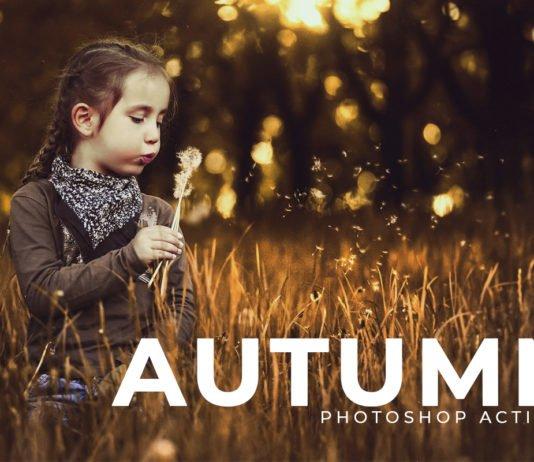 Free Autumn Photoshop Actions