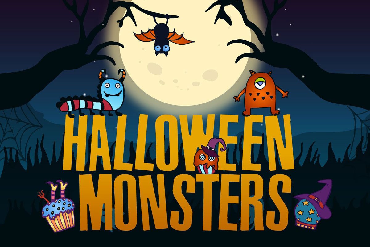 Free Halloween Monsters Vector Illustration