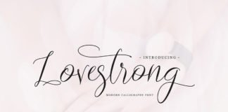 Free Lovestrong Script Font
