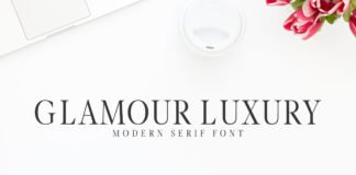 Free Glamour Luxury Modern Serif Font
