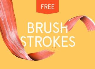 10 Free Artsy Paint Brush Strokes