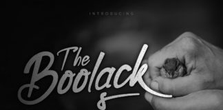 Free Boolack Handwritten Script Font
