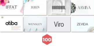 100 Best Free Minimalist Design Fonts in 2018