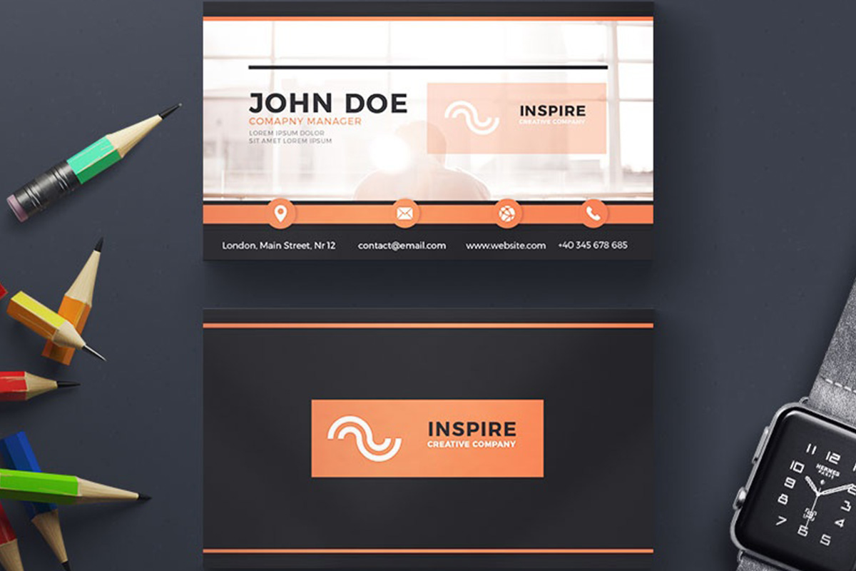 200 Free Business Cards PSD Templates