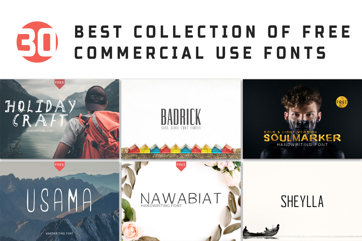 Best Commericals 2020 Christmas 30 Free Best Commercial Use Fonts For 2020 ~ Creativetacos