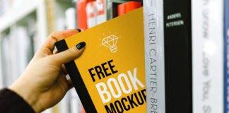 Free Book Cover Mockup