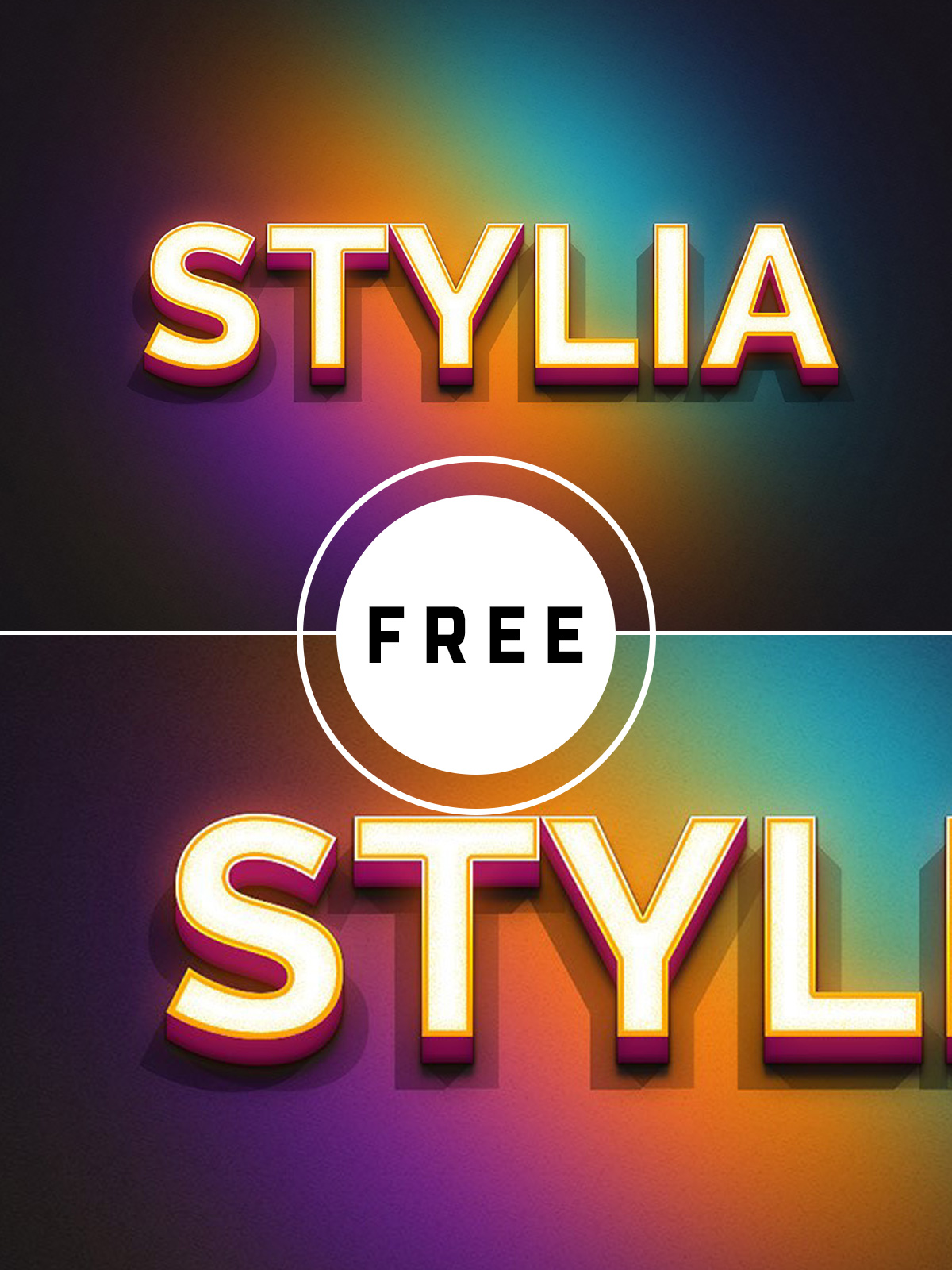 80 Free Smart Easy PSD Text Effects
