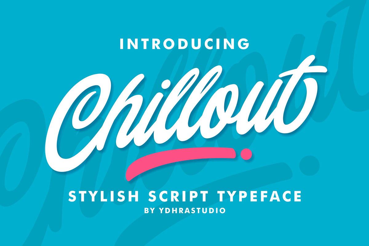 Free Chillout Script Font