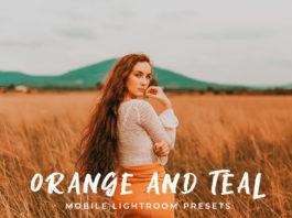 Free Orange and Teal Mobile Lightroom Presets