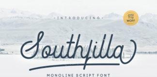 Free Southfilla Monoline Script Font