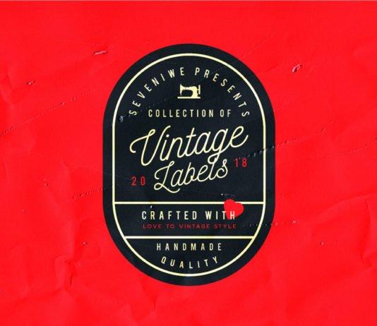 Free Vintage Label Template Kit