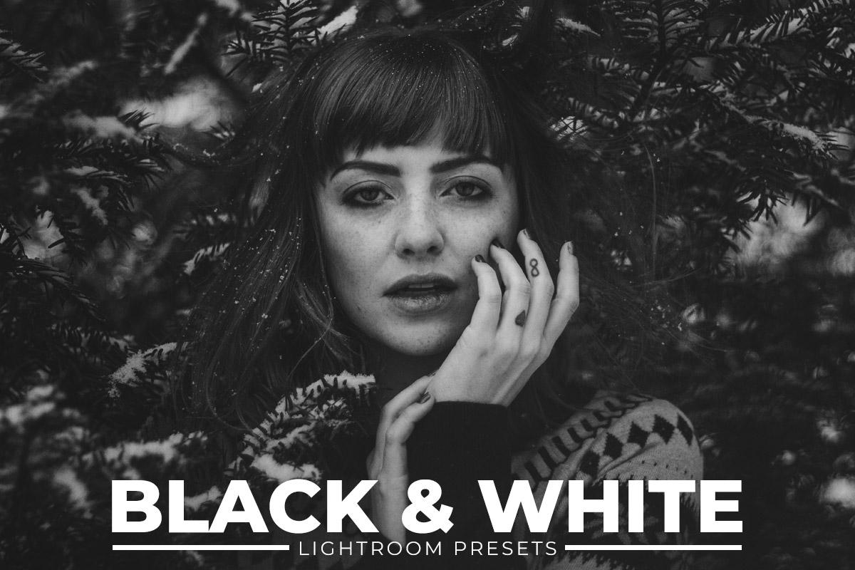100 Free Black & White Lightroom Presets