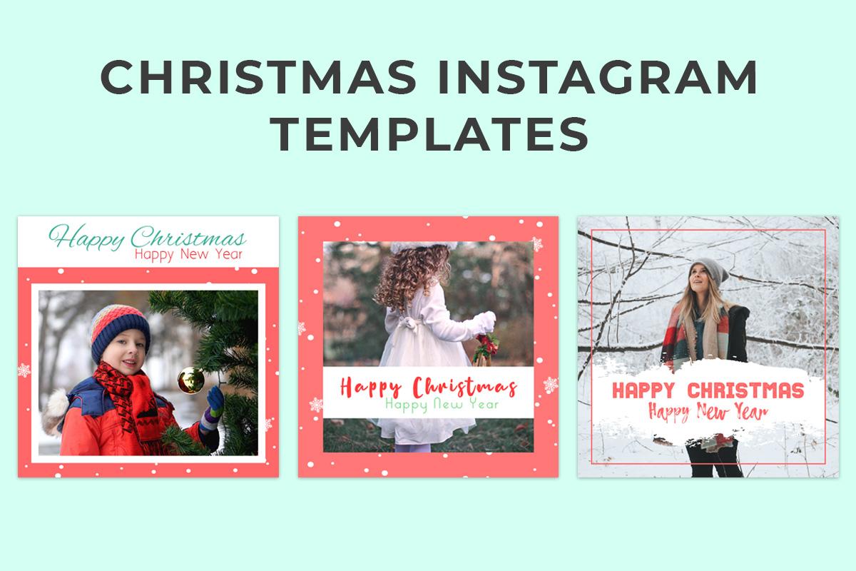 Free Christmas Instagram Templates
