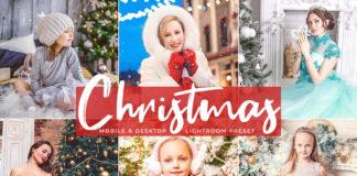 Free Christmas Mobile Lightroom Presets