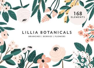 Free Lillia Floral Illustration