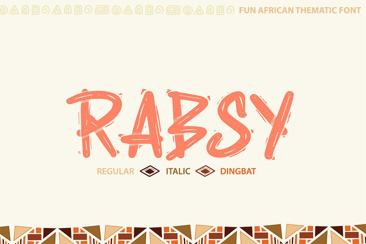 Free Rabsy Display Font