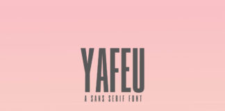 Free Yafeu Sans Serif Font