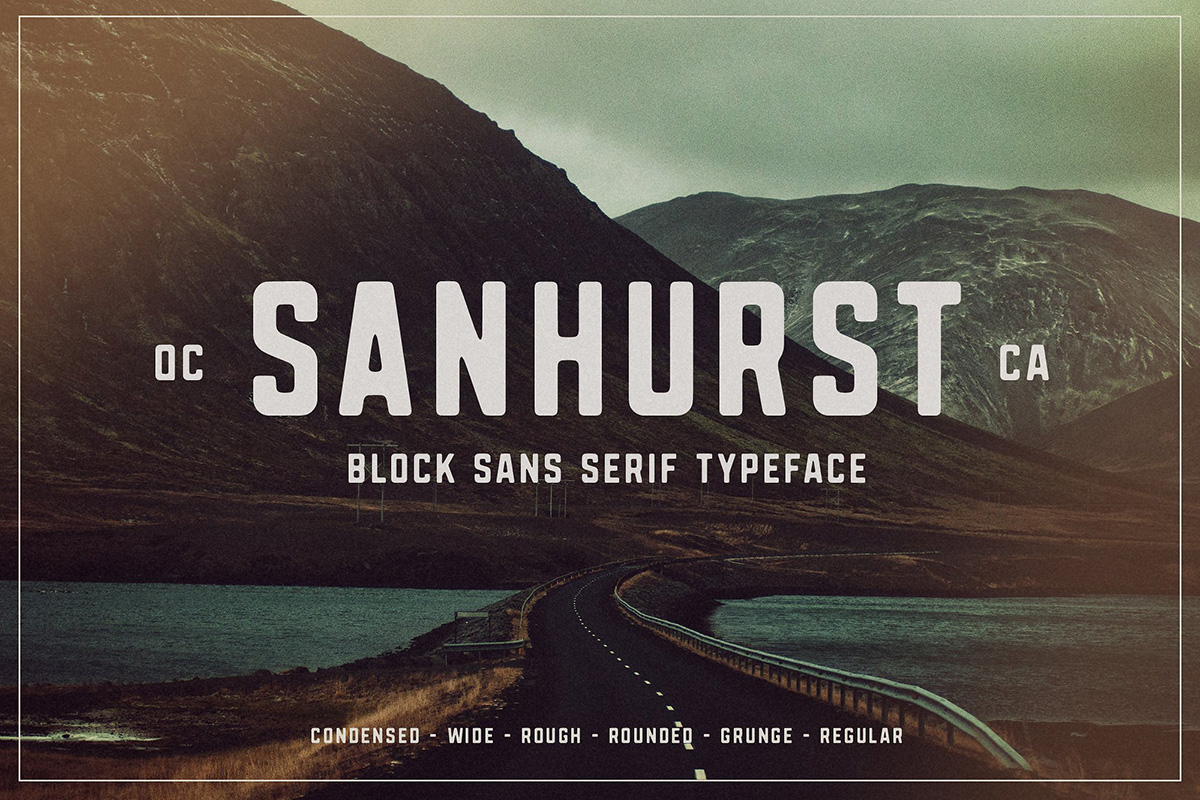 40+ Best Condensed & Narrow Fonts of 2019