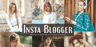 Free Insta Blogger Lightroom Preset