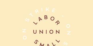 Free Labor Union Small Serif Font