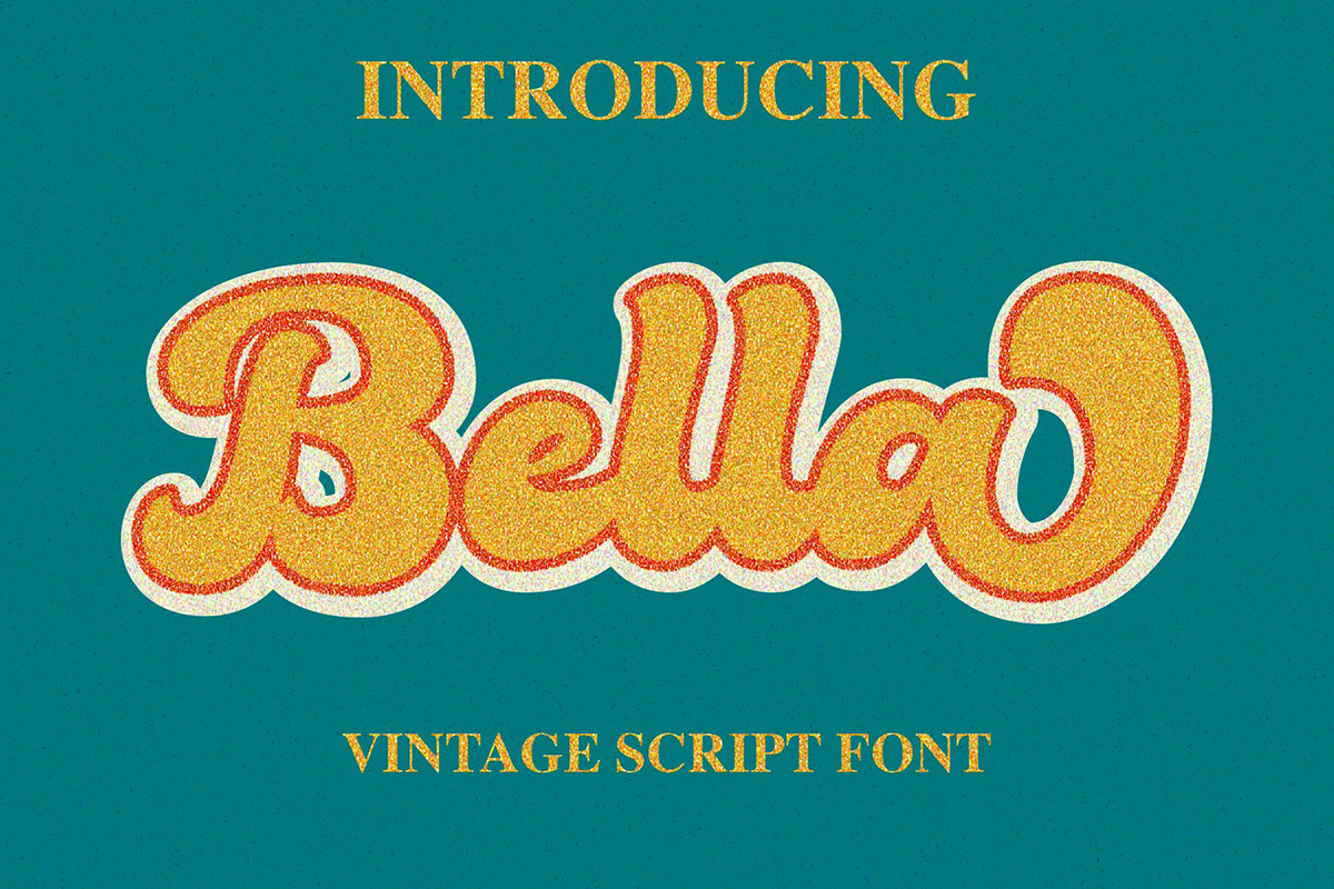 Free Bella Script Font