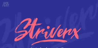 Free Stiverx Brush Script Font