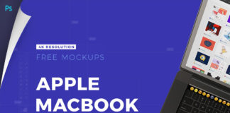 Free Apple Macbook Pro 15 Mockups