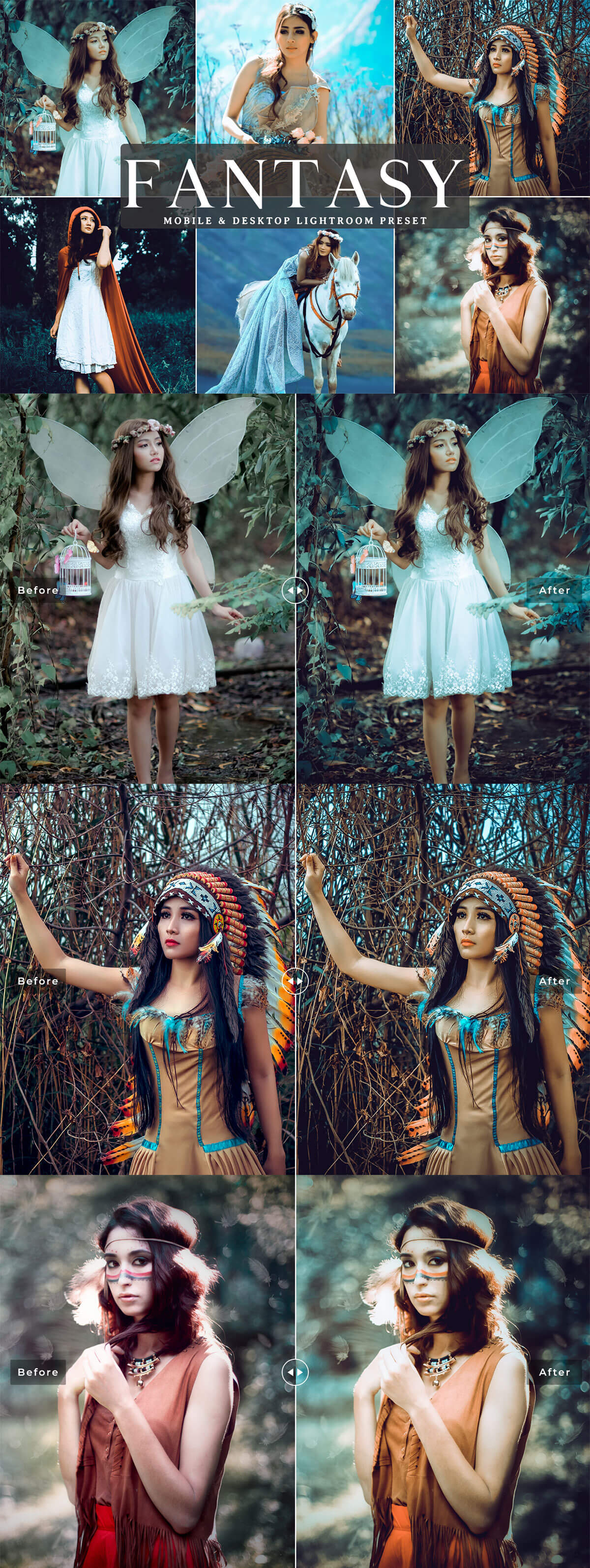 Free Fantasy Lightroom Preset