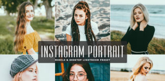 Free Instagram Portrait Lightroom Preset