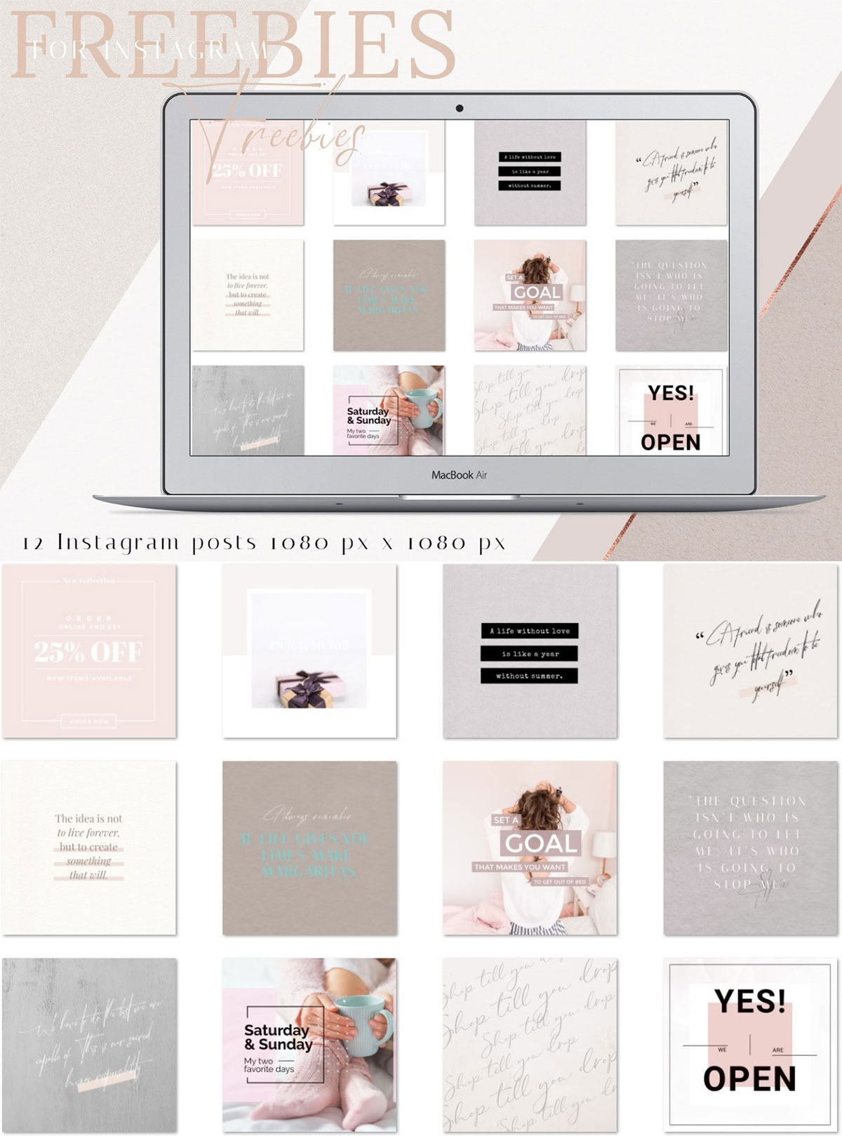 Free Instagram Quotes Pack