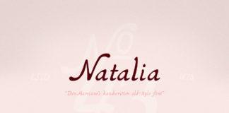 Free Natalia Handwritten Font