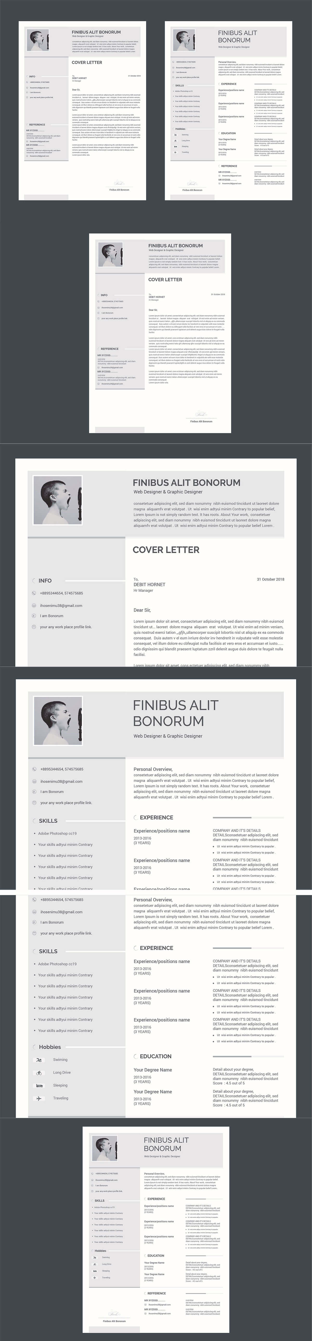 Free Resume & Cover Letter Template