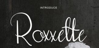 Free Roxxette Script Font