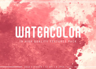 Free Watercolor Textures Pack