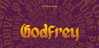 Free Godfrey Blackletter Font